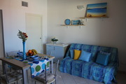Two-room flat of about 36 m2 with an additional spacious terrace of 18 m2 The flat has a living roo